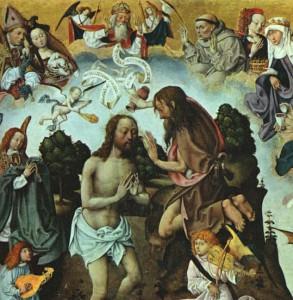 Baptism of Christ, Master of the St. Bartholomew Altar, 1500