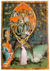 Vision of the Throne of the Lord (The Paris Apocalypse), French Miniaturist, ca. 1400