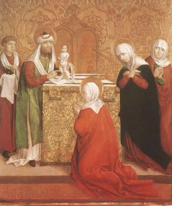 Presentation of Jesus in the Temple Master of Okolicsnó (Hungary), 1510