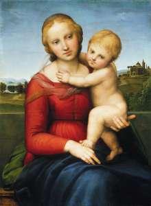 Cowper Madonna, Raphael 1505